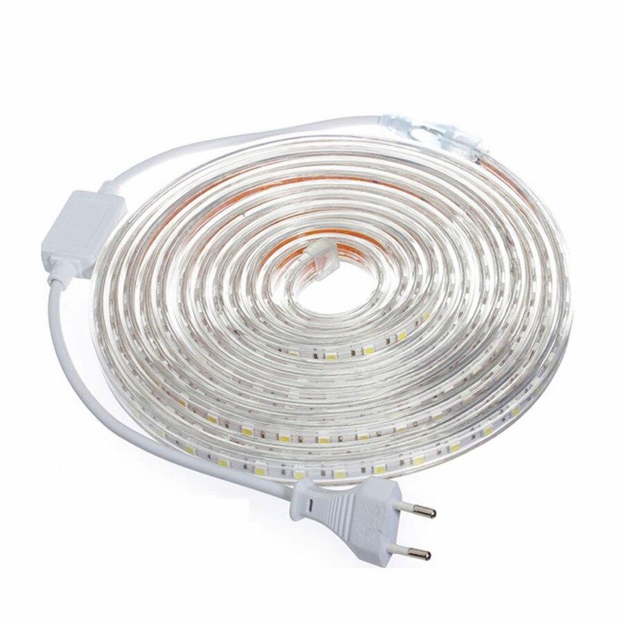 Waterproof Led Strip Light 220v Smd 5050 Flexible Light