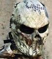 Kryptek-Highland Mandrake nómada tifón máscara de hierro el capitán Knight airsoft CS cráneo campo de juego de guerra de camuflaje zombie Guerrero fiesta máscara