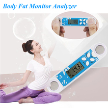 Digital BMI Body Fat Caliper Moniters Analyzer Tester Weight Lose Measurement Fitness Keep Health Home Using Hot O25