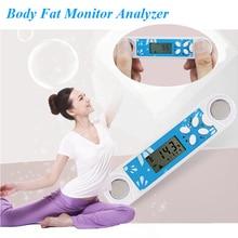Digital BMI Body Fat Caliper Moniters Analyzer Tester Weight Lose Measurement Fitness Keep Health Home Using Hot O25
