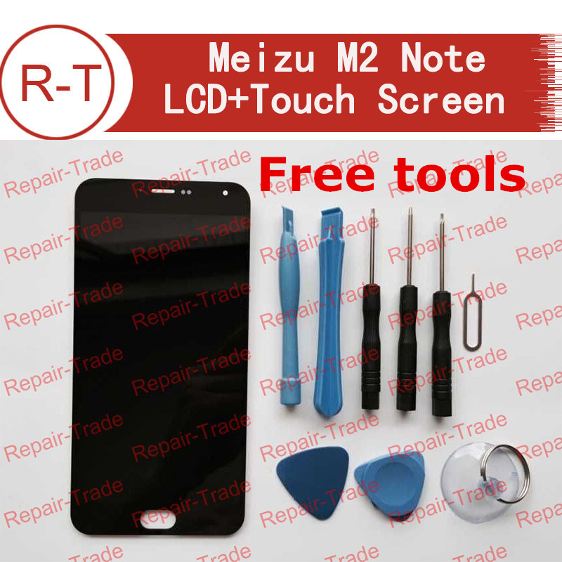 imágenes para Para M2 Meizu Nota Pantalla LCD de Alta Calidad pantalla LCD de 5.5 pulgadas + Touch Panel Reemplazo Para MTK6753 1920X1080 M2 Meizu Nota