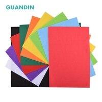 Guandin, смесь твердых Цвет войлок/нетканый материал на основе полиэстера/Толщина 2 мм/для DIY швейных игрушки, ремесла куклы/10 шт. в 1 упак./20 см x 30 ...