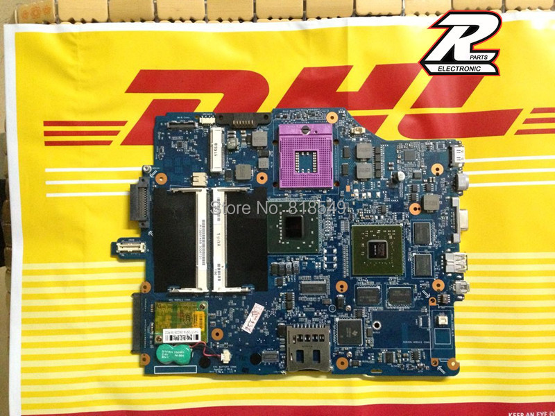 ФОТО NEW !! For Sony VGN-FZ A1512274A MBX-165 MS92 / MS91 Notebook PC Motherboard 100% Tested working Physical photos
