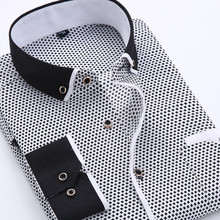 New Arrival Long Sleeve Business Shirts Slim Fit