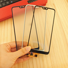 все цены на 5.84'' For Huawei Honor 9i 9 i Touch Screen Glass Panel Digitizer Sensor Touchpad Front Glass Panel Repair Parts онлайн