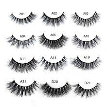 039fa9309fa LEHUAMAO Mink Lashes 3D False Eyelashes Natural Makeup Eyelash Extension  full Strip