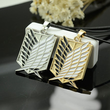 Anime Attack on Titan Necklace Wings Of Liberty 12Pcs/Lot Pendant Jewelry