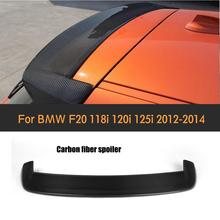 цена на Hot selling  Carbon Fiber style Rear wing spoiler,3D style Auto car rear lip spoiler FOR BMW F20 F21 128i 118i 125i M135i 2012