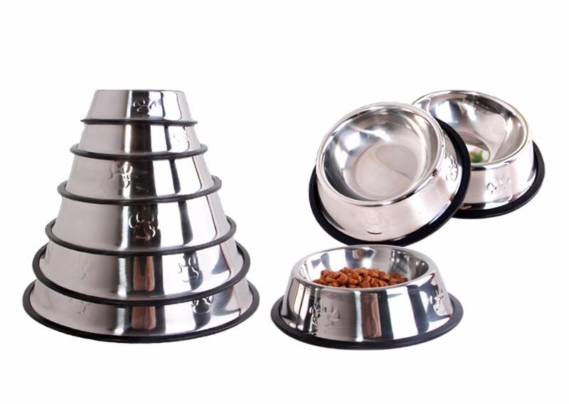 gamelle acier inoxydable pour chien ou chat