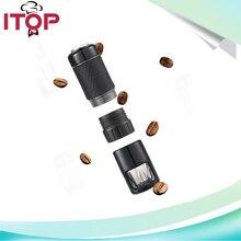 ITOP Manual Coffee Maker hand espresso maker mini coffee machine coffee pot portable for outdoor Travel design
