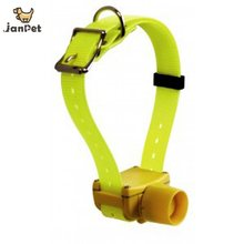 Yellow color hunting Dog Collar beeper Dog Training Collar waterproof for small medium large dogs(China)