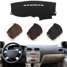 Console Dashboard Suede Mat Protector Sunshield Cover Fit For Ford Focus 2005-2011