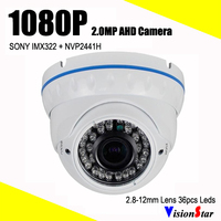 AHD 1080p 2 0mp 1 3 Sony Imx322 High Resolution Ir Cut 36pcs Ir Leds Indoor
