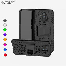Huawei Mate 20 lite Case Back Cover Huawei Mate 20 lite Phone Case Silicone & Plastic Armor Case Bumper Mate 20 lite Funda Capa huawei mate 20 lite case cover armor rubber heavy duty phone case huawei mate 20 lite back cover huawei mate 20 lite fundas 6 3