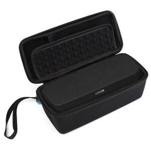 Image 2 - 2018 Yeni EVA Taşıma Seyahat Kapak Kılıf için Anker SoundCore Boost 20 W bluetooth hoparlör PU saklama kutusu Taşınabilir Koruyucu Kapak