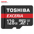 TOSHIBA U3 Карты Памяти 128 ГБ 64 ГБ SDXC Карта Micro Sd SDHC-I 32 ГБ 16 ГБ U1 C10 Официальный Проверка Microsd для Смартфонов/Планшетов