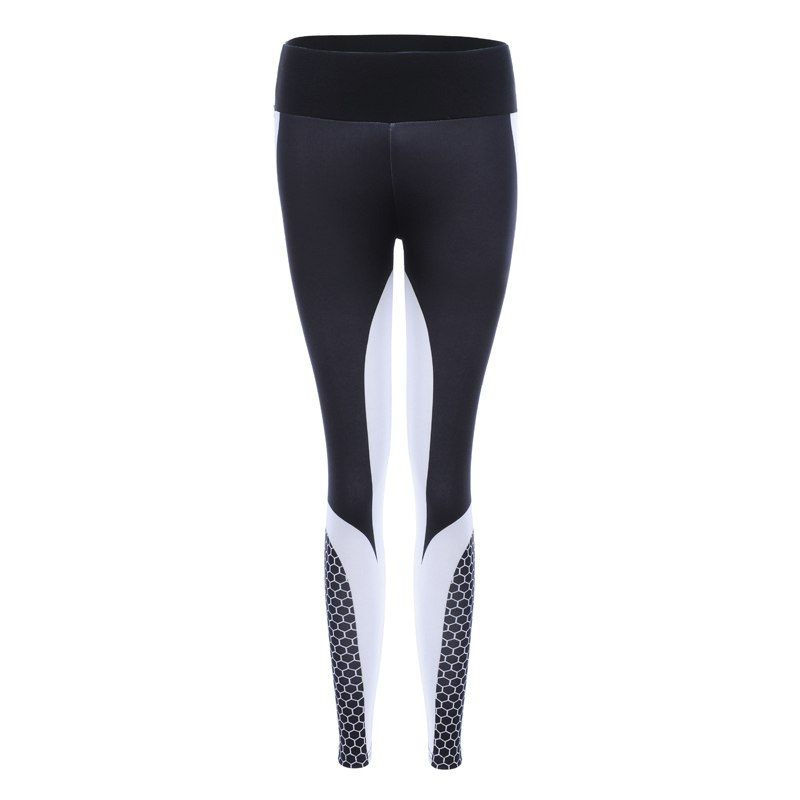 8 colors New Fitness Sport leggings Women Mesh Print High Waist Legins Femme Girls Workout Yoga Pants Push Up Elastic Slim Pants 50