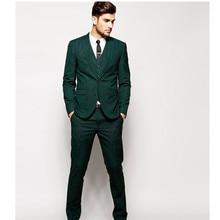 men's suits Details about  Custom Gray 3Pcs Slim Fit Groom Formal Occasion Ball Prom Men's Wedding Suits (jacket + pants + vest)