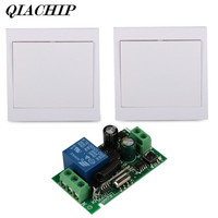 433MHz Wall Panel Transmitter 433MHz RF TX Remote Control Switch Relay Receiver 1 Transmitter CH Remote