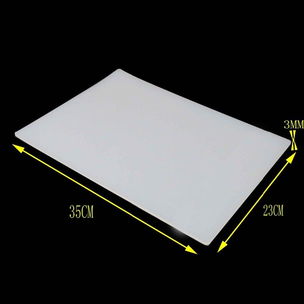 high quality 350*230*3mm Heat-resistant Heat Gun BGA Soldering Station Repair insulation pad desk mat maintenance platform цена