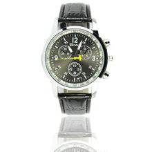 Hot Fashion Clock PU Leather Wristwatches Casual Sports Watches wholesale