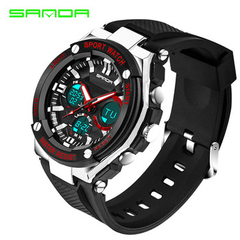 Waterproof Mens Sports Watches Relogio Masculino 2017 Hot Men Silicone Sport Watch Reloj Shockproof Electronic Wristwatches 733