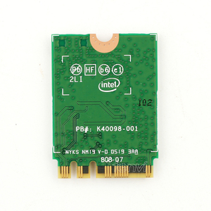 Image 2 - 2400Mbps Wireless AX200NGW Wifi Network Card For Intel AX200 Wi Fi Bluetooth 5.0 Dual Band 2.4G/5G 2x2 NGFF M.2 802.11ac/ax