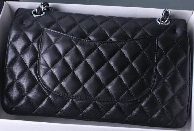 Top Quality Lambskin Leather Bag Women Luxury Brand Design Handbags Double Flap Caviar Shoulder Bag Classic Woc Plain Chain Bag top quality women caviar leather handbags luxury designer le boy brand crossbody bags woc bolsa feminina chain shoulder bag