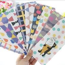50 stücke Katze Umschlag Schule Büro Studenten Niedlichen Umschlag Geschenke Umschlag Gute Qualität Papier Kreative DIY Werkzeug Greating Karte Abdeckung
