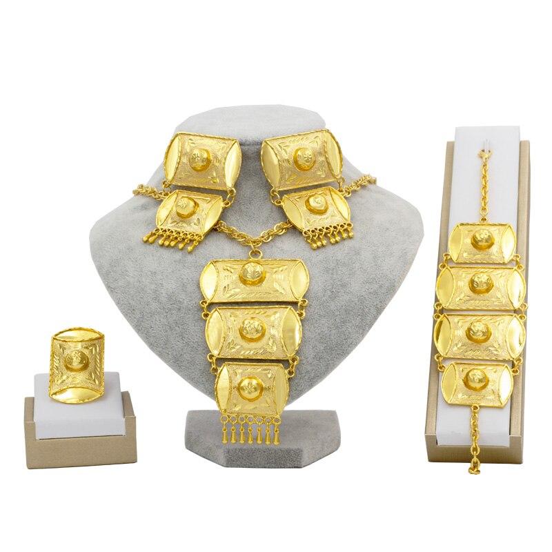 Dubai Gold African Jewelry...