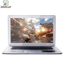 ZEUSLAP-A8 Окна 10 Системы 8 ГБ оперативной памяти + 64 ГБ SSD + 1 ТБ HDD двойной диск ультратонкие 4 ядра быстро бег ноутбука Тетрадь компьютер