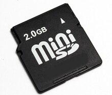 2 GB MINISD Tarjeta miniSD tarjeta de Memoria MINI SD CARD
