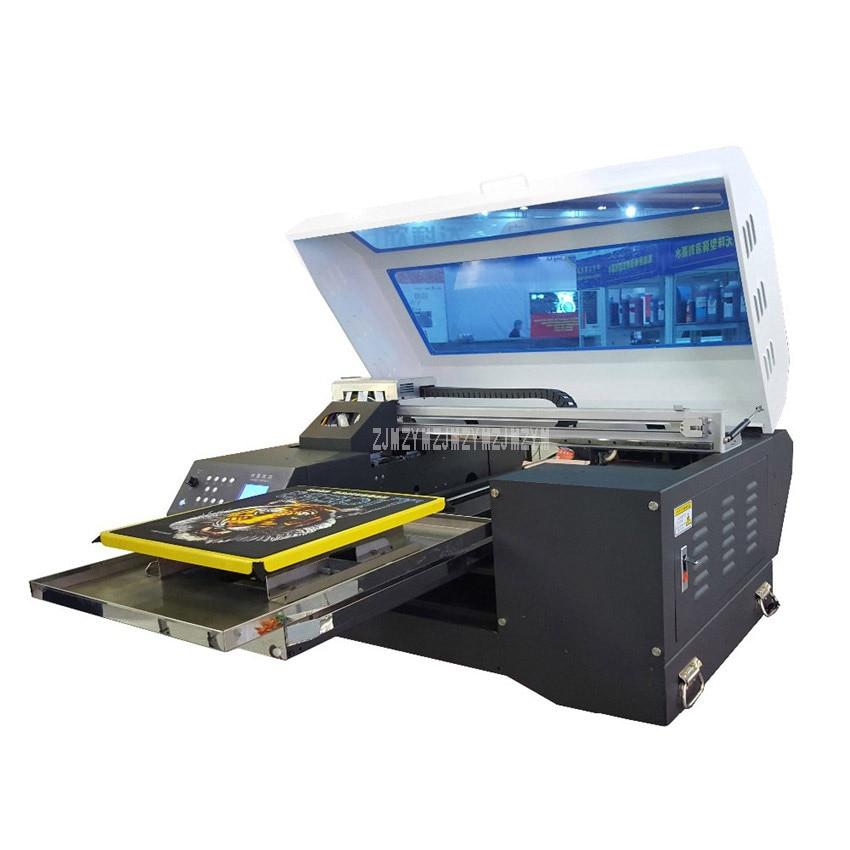 37180e129 1440DPI Large Format Custom Digital Garment Printing Cloth T-Shirt Printer  LED Touch Screen Direct