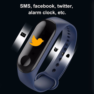 Image 3 - Kivbwy Bluetooth ספורט חכם צמיד להקת קצב לב לחץ דם עמיד למים כושר M3 חכם להקת גשש כושר מד צעדים