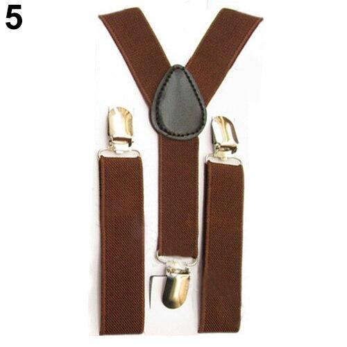 2016 Top Quality Lovely Kids Adjustable Clip-On Braces Boys Girls Y-Back Suspender Child Elastic  5PJI 7GL9 7O4D