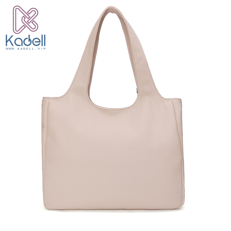 1829b5695cc8 Kadell brand 2018 Luxury Handbags Women Bags Designer Simple Tote Bags for  Women Top Handle Soft Leather Shoulder Messenger Bag-in Shoulder Bags from  ...