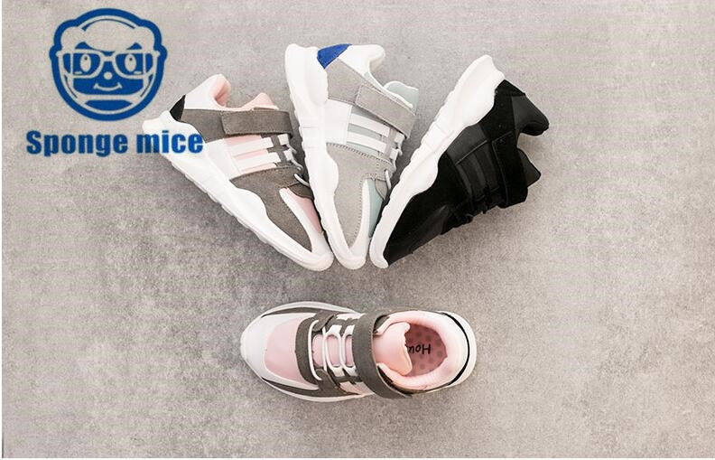 2018-Spong-mice-autumn-children-canvas-shoes-girls-boys-shoes-Breathable-casual-shoes-0825-1