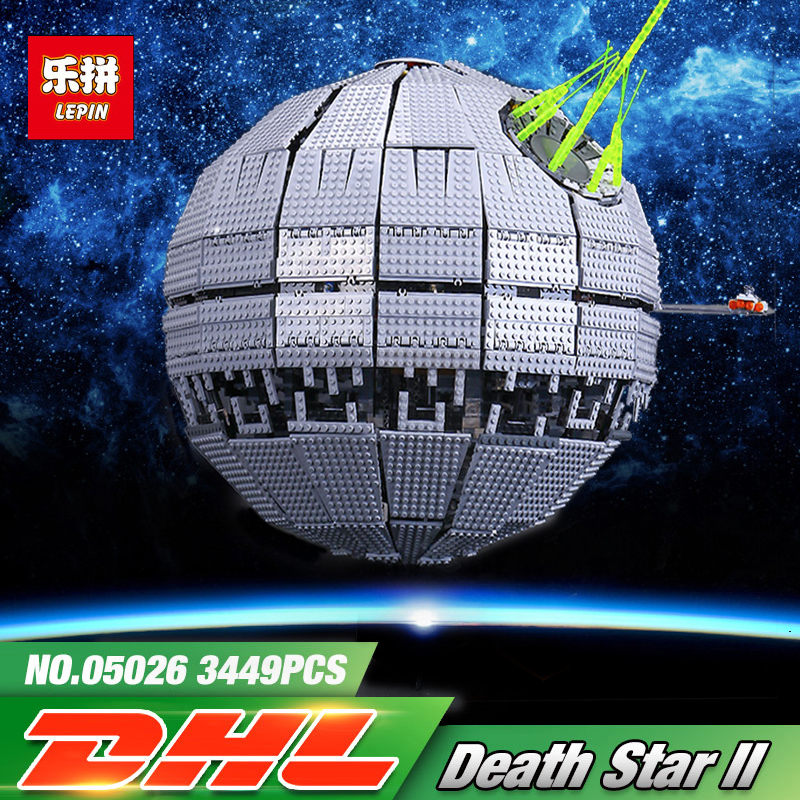 LEPIN 05026 Star Series War Death Model Star The second generation Building Block Bricks legoINGlys 10143 Toys Educaitonal Gifts rollercoasters the war of the worlds