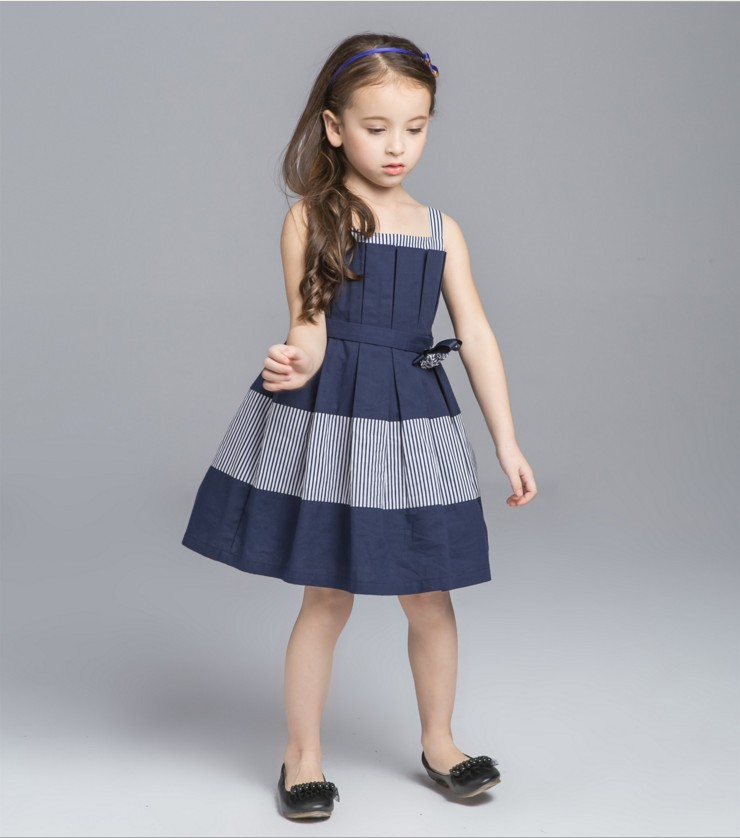 2017 new summer navy blue elegant dress with flower for What time does old navy open today