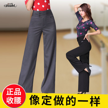 2018 Ballroom Dance pants Lady's Tango Waltz Dancing costumes Women Ballroom Dance Competition pants 814