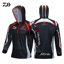 New DAYIWA Summer time Sports activities Outside Sunscreen Fishing Clothes Breathable Perspiration Anti-mosquito Extremely-thin Fishing Garments