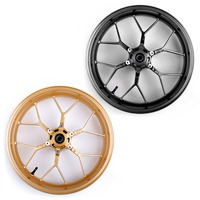Areyourshop Motorcycle 17 Complete Front Wheel Rim Fits for Honda CBR600RR 2013 2014 2015 2016 2017 Motorbike Wheels Parts