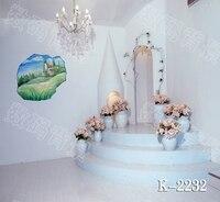 10x10ft vinyl photography backdrop vinyl backdrops for photography vintage photography background stairs flowers k 2232