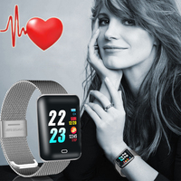 Square Smart Watch Women Ladies Brand Luxury Bracelet Wristwatches Electronic LED Digital Sport Wrist Watches For Female Clock