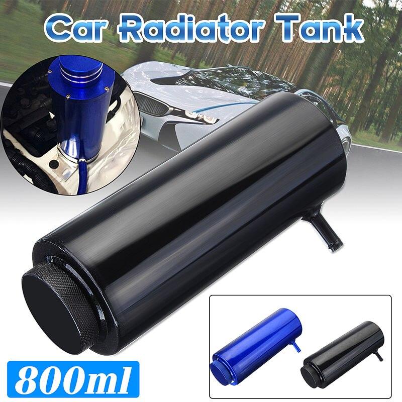 800ml Car Radiator Water Coolant Clooer Tank Cooling Catch Bottle Overflow Reservoir Heatsinks Aluminum Universal coolant overflow reservior tank bottle catch can 3 x 10 32oz stainless steel