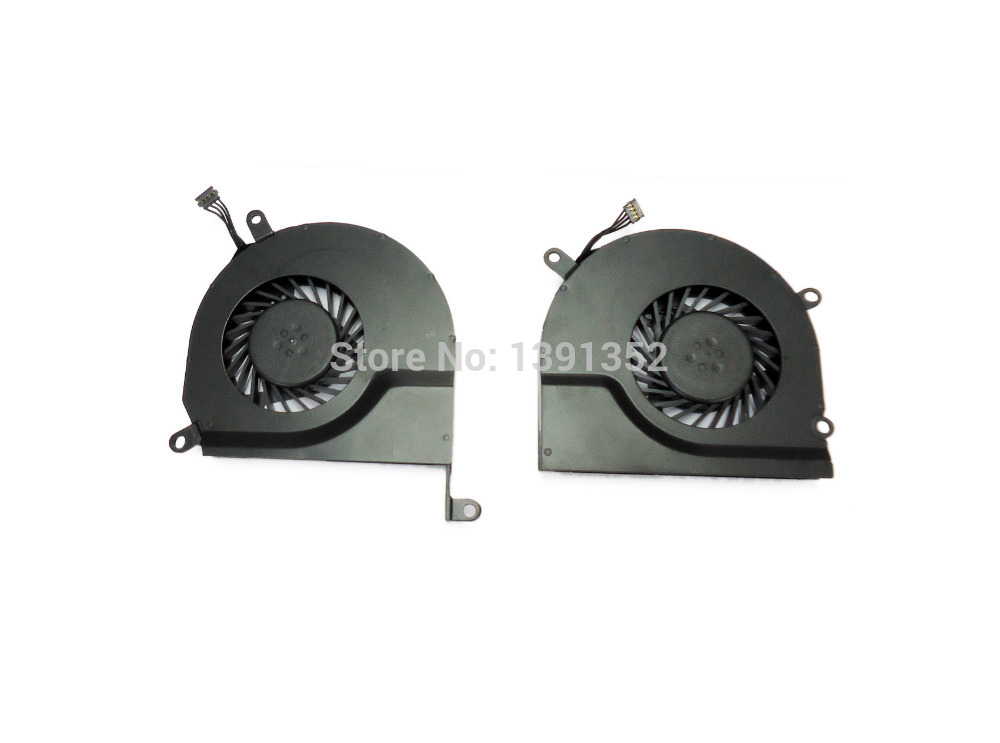 15.4 Laptop A1286 Fan, For Apple Macbook Pro A1286 Ventilator Replacement 2008-2011 new laptop battery for apple 15 macbook pro a1286 2008 a1281 mb772 mb772 a mb772j a mb772 mb470
