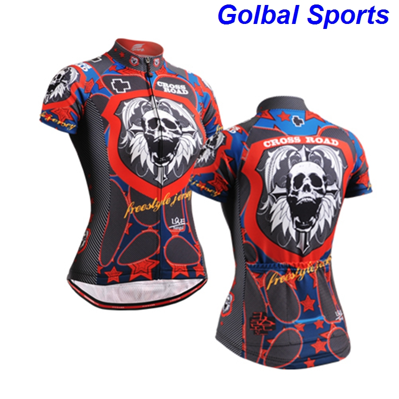 eb7bc0ccc 2017 Long-lasting Graphic Short Sleeves Cycling Jersey women clothes on sale  Workout Fitness Bike Clothing ycling jersey xxxl
