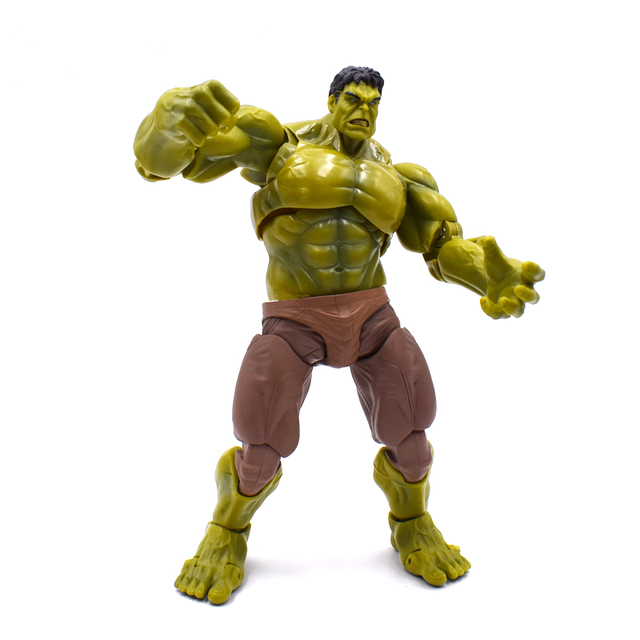 Figma 271 17 centímetros Avenger Super Herói Hulk Homem De Ferro Hulk Buster PVC Action Figure Collectible Modelo Toy Frete Grátis