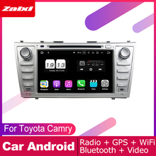ZaiXi 2 DIN Auto DVD Player GPS Navi Navigation For Toyota Camry 2006~2011 Car Android Multimedia System Screen Radio Stereo цены онлайн