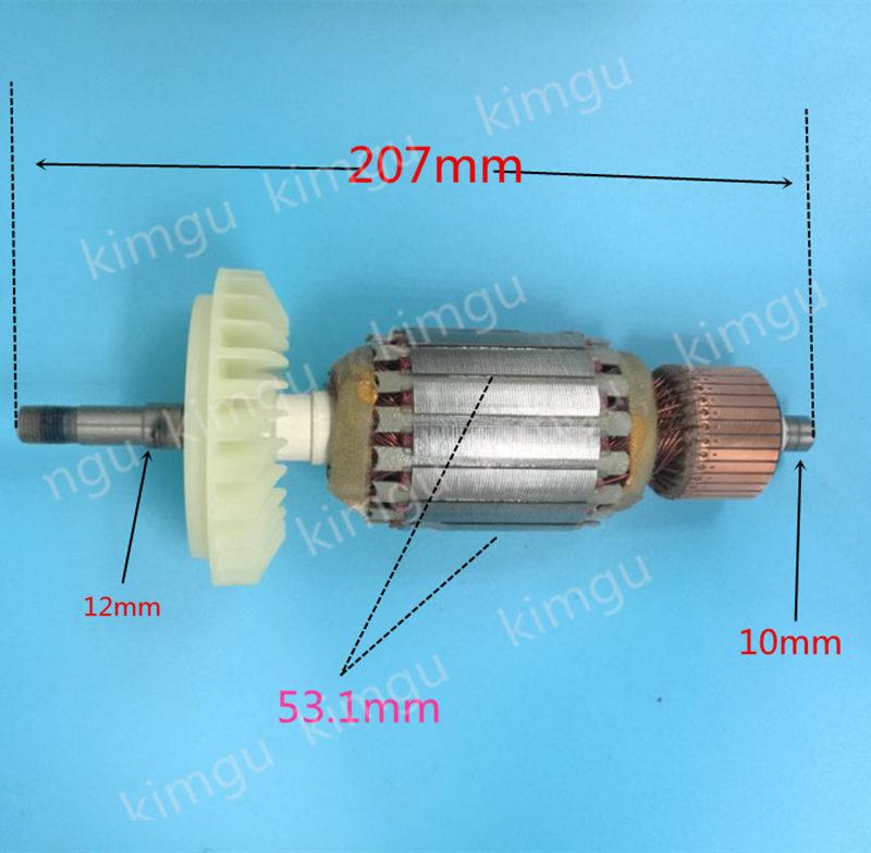 Арматура 220 V-240 V ротора 360982E 360982F для Hitachi G23SW2 G23ST G18SW2 G18ST